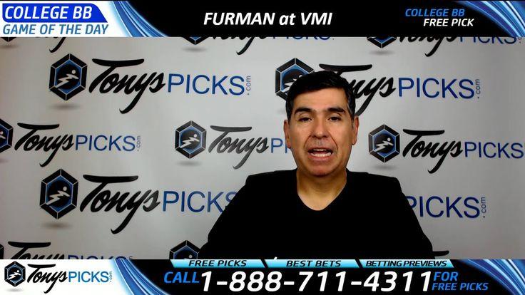 Furman vs. VMI Free NCAA Basketball Picks and Predictions 2/13/17