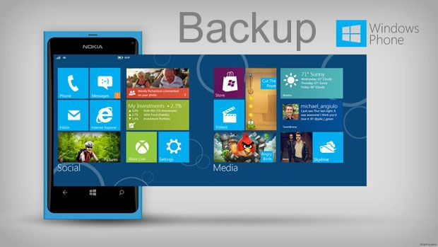Backup no Windows Phone - Blog do Robson dos Anjos