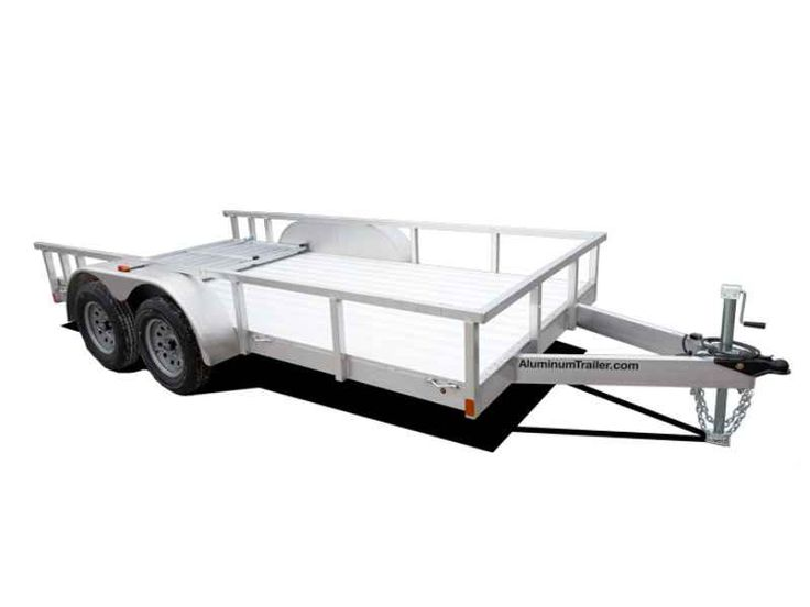 New 2016 Aluminum Trailers Utility 3.5K Axles 7.0'W x 16'L (2) Tors ATVs For Sale in Florida. 2016 Aluminum Trailers Utility 3.5K Axles 7.0'W x 16'L (2) Torsion 3.5K Axles, ANDERSON TRAILER - BLACK Picture does not represent trailer