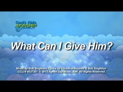 A new, easy-to-sing, modern Christmas song, What Can I Give Him, is designed to stick with kids beyond the walls of the church. Great for worship or performance.