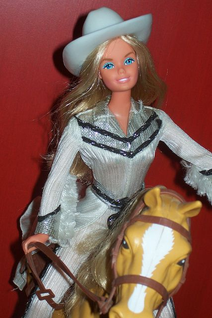 Western Barbie and Dallas...I had both of these and loved them! My Western Barbie could wink though if you pushed a button on her back.