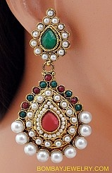 Big Indian Earrings