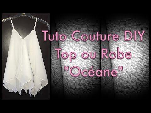 Coudre une Gown avec 1 carré en Jersey en 10mn – Tuto Couture DIY – YouTube