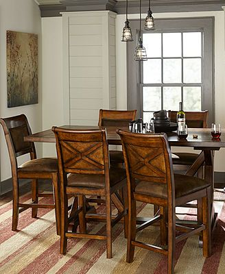 Mandara Counter Height Dining Room Furniture Dining Room Pinterest Shops Dining Room