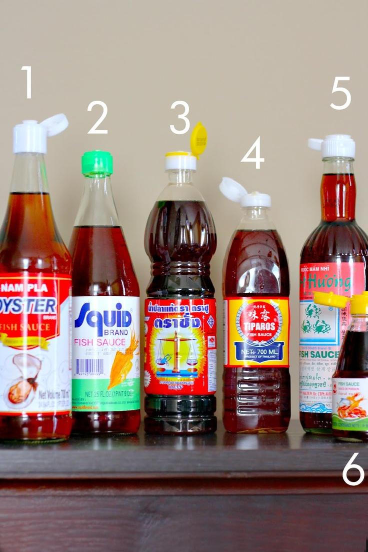 よくみるタイの調味料5種