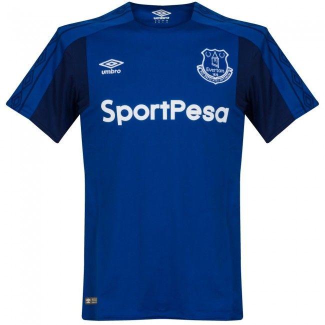 Camiseta del Everton 2017-2018 Local #everton #shirt