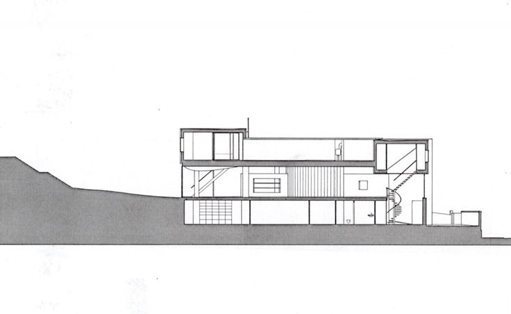Villa dall'Ava. Rem Koolhaas. Saint-Cloud, Paris's Surburbian. Much of the spatial composition of the Villa dall'Ava was influenced by its site, in a garden on a hill. It was completed in 1991 in the residential area of Saint-Cloud, overlooking Paris. The clients selected OMA to design a house with two distinct apartments—one for themselves and another for their daughter—and requested a swimming pool on the roof with a view of the Eiffel Tower.