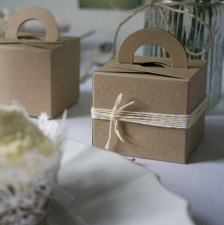 Set Of Ten Recycled Card Favour Bo By Wedding In A Teacup 5