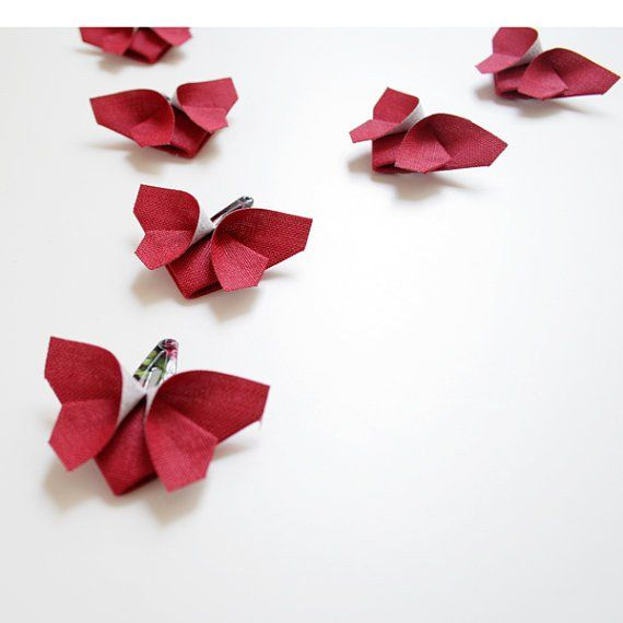 Origami Butterfly Hair Clips , Accessories - moran alhalel, Wild Dill  - 6