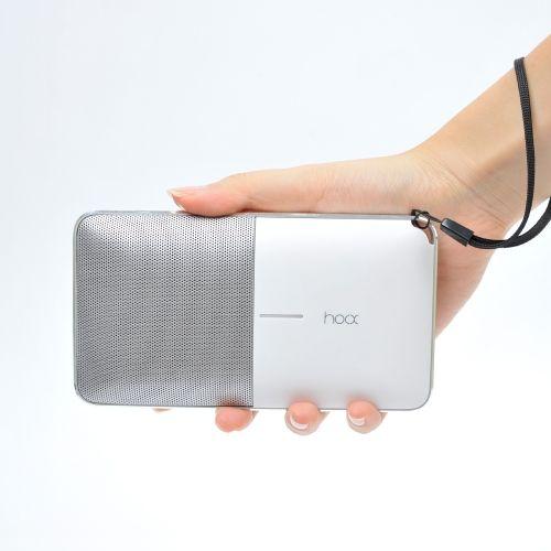 [무아스] [훅스] 6,000mAh 블루투스 스피커 보조배터리 플로우 S09 / Bluetooth Speaker with PowerBank HOOX Flow S09 - 보조배터리와 스피커가 한번에!