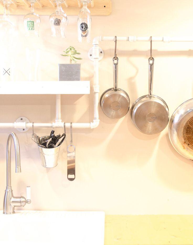 Plomberie structurelle pour la cuisine - Les Ateliers Hervé