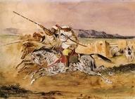 Delacroix, Arab Fantasia