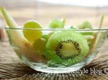 Rețetă Salata de fructe verzi