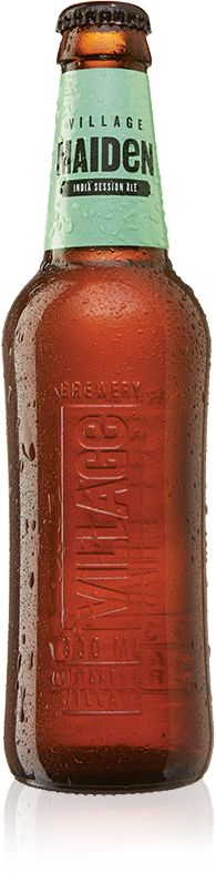 Village brews craft ales: Village Blonde Natural Golden Ale, Blacksmith India Black Ale and Wit White Wheat Ale.