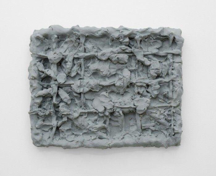 Dan Arps, Painting for welfare office, 2014, Polyurethane resin paint 340 x 430 x 45mm