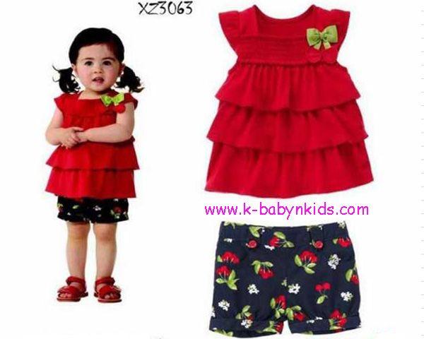 Samgami Baby Red Cherry Girl Set Brand : Samgami Baby  Satu set terdiri dari atasan dan celana Harga Rp 90.000,-  Grosir Perlengkapan Bayi dan Anak Terbaik di Jakarta ONLINE Via Web : www.k-babynkids.com SMS ke 08170759660 BB ke 281341B0