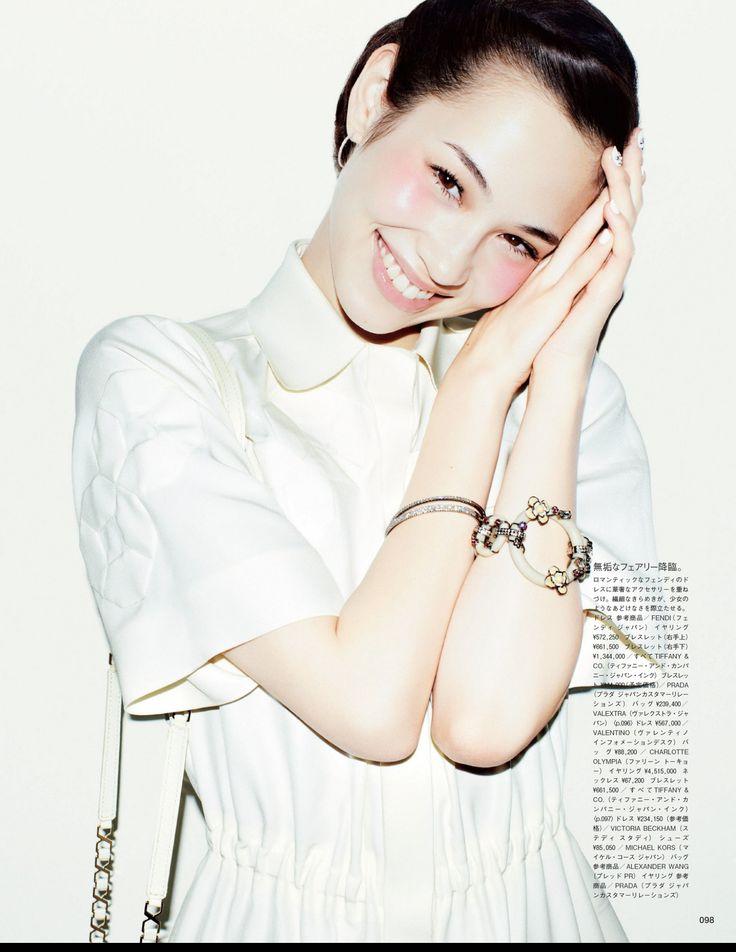 """Short But Sweet"" for Vogue Japan May 2013 Photographer: Matt Irwin Stylist: Aurora Sansone Hair: Yutaka Kodashiro Make-up: Yuki Manicure: Tomoko Kamiya Model: Kiko Mizuhara"