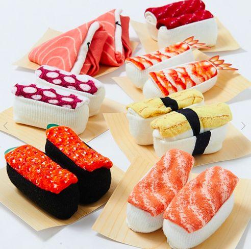 【富山☆発】海外へのお土産に最適!! お寿司みたいな靴下「寿司そっくす」が海外サイトでも話題に