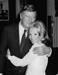 John Wayne & his 3rd wife, Pilar were married in 1954 untill his death in 1979. (They had 3 children)