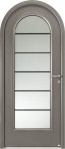 14 portes d'entrées cintrées Bel'm...Porte d'entrée mixte Léry (crédit photo Bel'm)