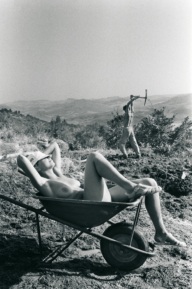 Letizia Battaglia Polizzi, 1984. The countryside in the Monti Madonie.