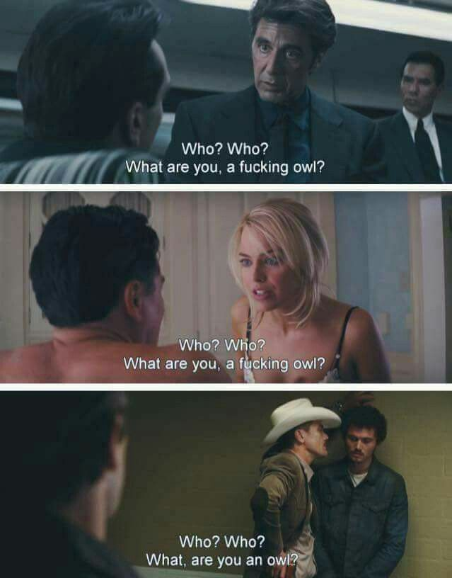 Heat (1995) The Wolf of Wall Street (2013) Nocturnal Animals (2016)