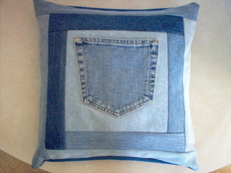 recycling denim in craft projects - Google Search