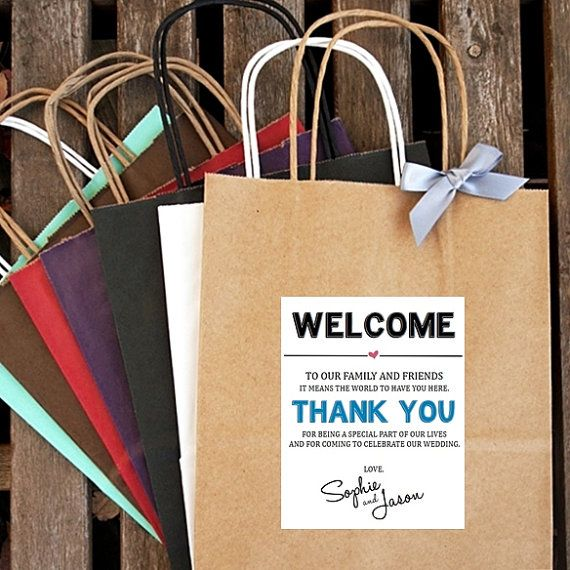 25 Best Ideas About Hotel Welcome Bags On Pinterest