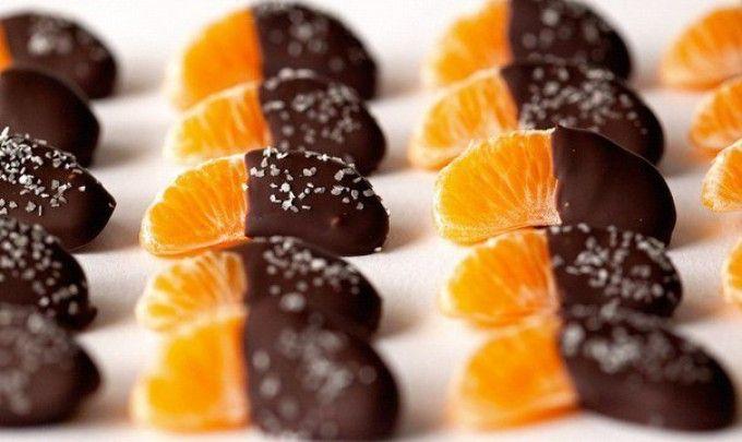 Mandarinky v čokoládě   NejRecept.cz