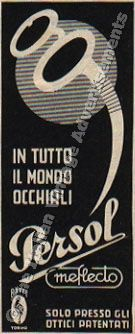 The Italian Vintage Advertisements: Gli Occhiali da Sole