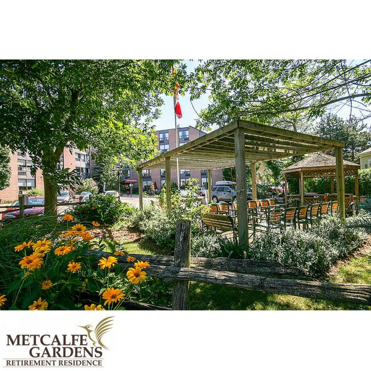 Metcalfe Gardens is a beautiful 5-story building surrounded by trees and gardens and has been a part of this St.Thomas neighborhood for over 25 years. Metcalfe Gardens Retirement Residence is the perfect mix of old fashioned hospitality and an atmosphere that is full of excitement and vitality.