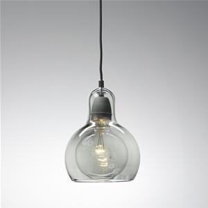 Smoked Mega Bulb by Andtradition. Available at Great Dane.