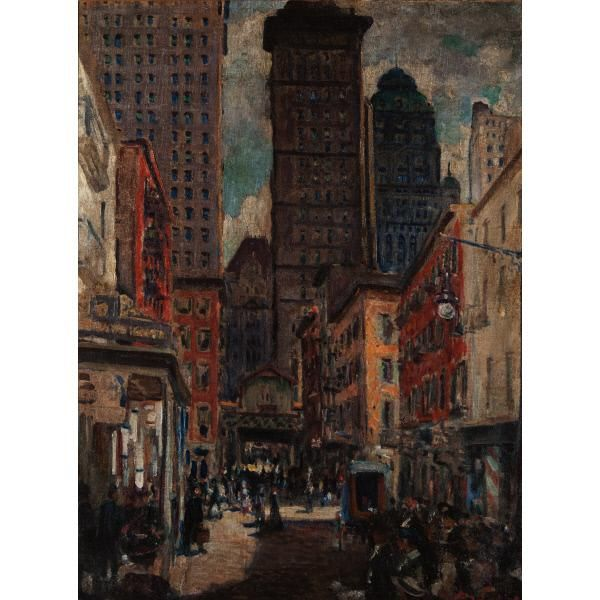 Downtown New York – Works – American Art Highlights – Collections – The Huntington Art Collections Online Catalog