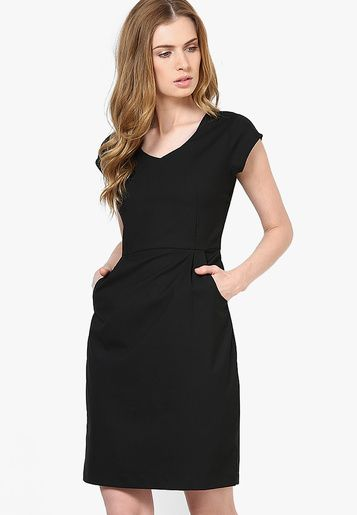 Arrow-Woman Black Dresses