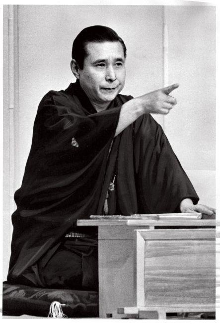 若々しさと貫禄(かんろく)が同居していた(1975年10月、朝日新聞の保存写真から)