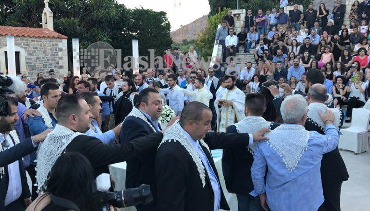 13 νονοί και 13 κουμπάροι - Κρητικός γάμος και βάφτιση για ρεκόρ Γκίνες (φώτος & βίντεο)
