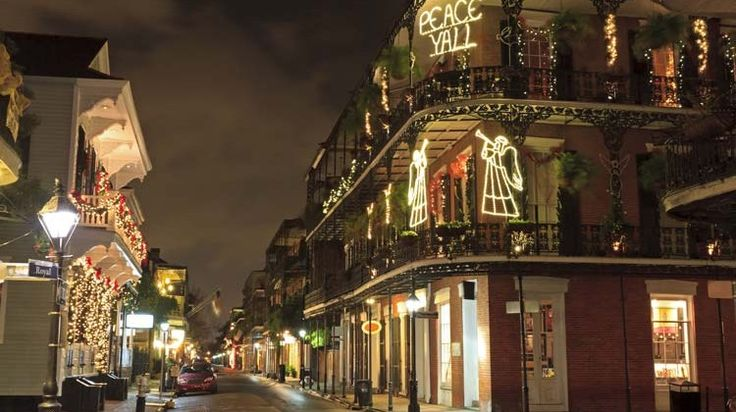 New Orleans or The Big Easy Shows Everyone a Good Time