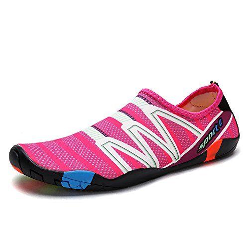 365dd7160c86 Mens Womens Water Shoes Quick Dry Barefoot Water Sports Shoes Aqua Socks Unisex  Beach Swim Shoes US 4-13.5