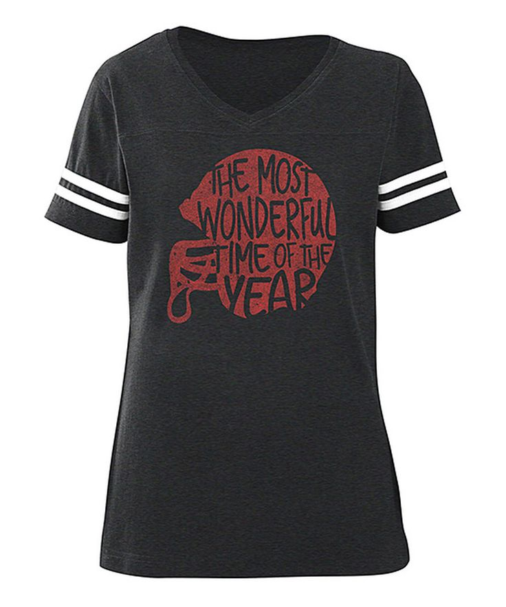 Amrican Classics Vintage Smoke 'Wonderful Times' Football Tee by American Classics #zulilyfinds