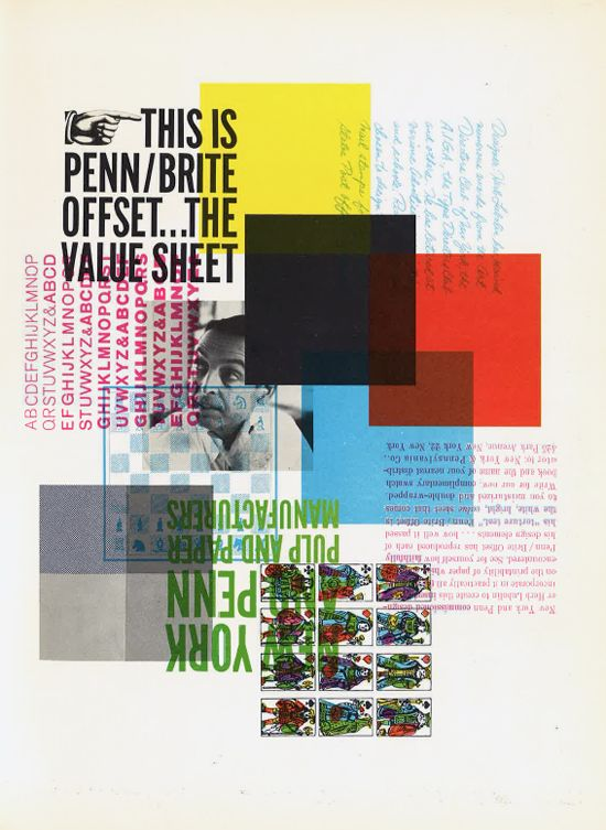 Graphic Design and Paper Ads From the '60s