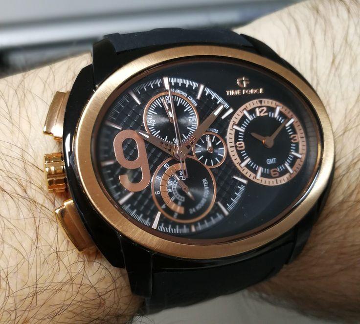 My Time Force brand C. Ronaldo  signature watch