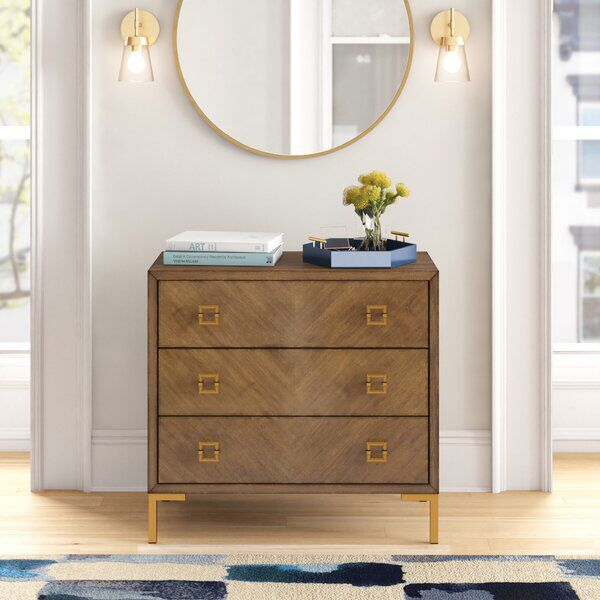 Val 3 Drawer Chest 3 Drawer Chest Chest Of Drawers Dresser Decor