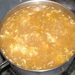 Egg Drop Soup (supposedly better than restaurant quality)