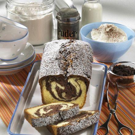 Marmor-Kastenkuchen Rezept | LECKER