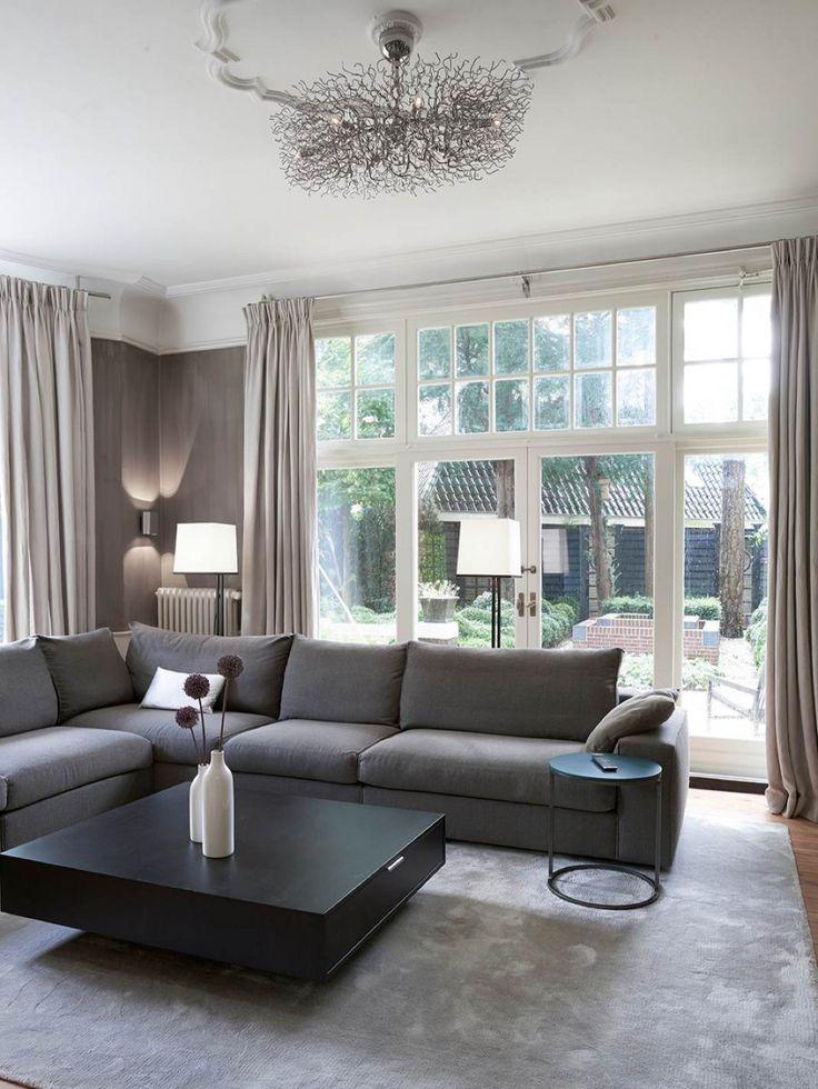 25 beste idee n over grijze banken op pinterest lounge decor grijze bank decor en neutrale bank - Grijze hoofdslaapkamer ...
