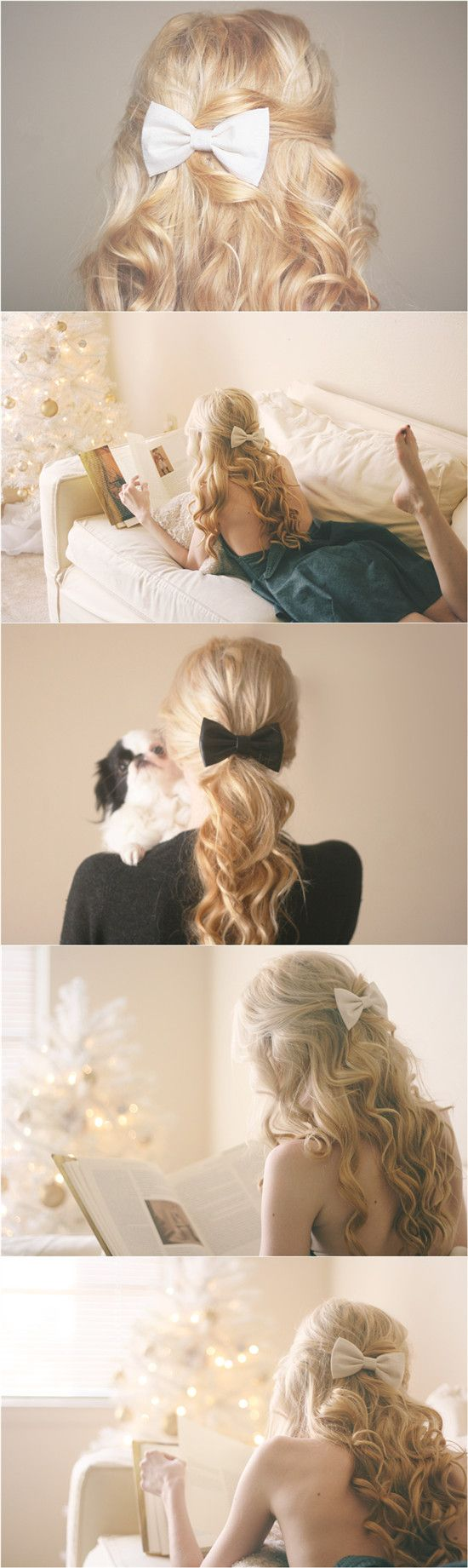 romantic hair bow for wedding 2014 by wavy blonde 20 inch real and great hair extensions for thin hair