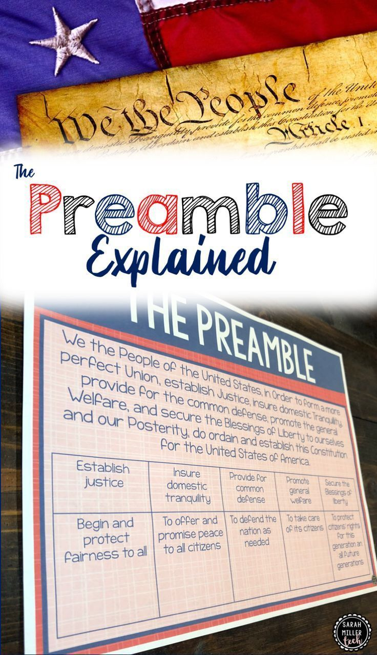 So Cute Decorate Your Classroom And Have The Preamble To U S Constitution Expl Activitie Social Studie Elementary 6th Grade Studies Discus Of