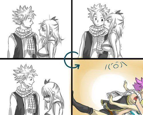 Yes Natsu thats EXACTLY wat she wanted... ;)