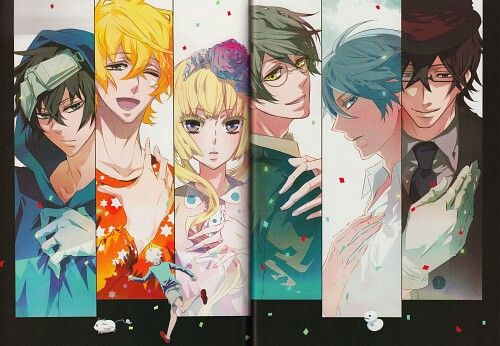 ♥ Anime manga karneval beautiful nai gareki yogi hirato tsukumo LOWLY