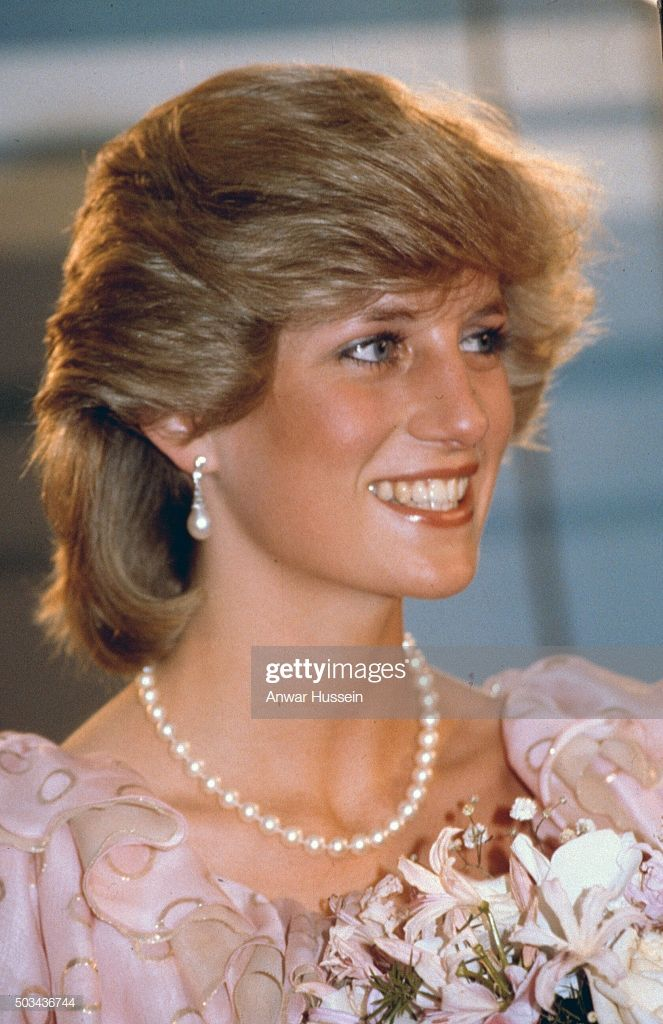 Diana Princess Of Wales Attends A Gala Concert During A Tour Of In 2020 Princess Diana Family Princess Diana Pictures Diana